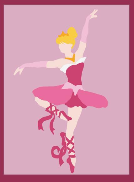 Disney ballerina aurora sleeping beauty by middler3dd on deviantart