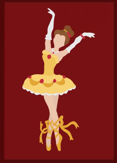 Disney Ballerina: Belle by middleR3DD