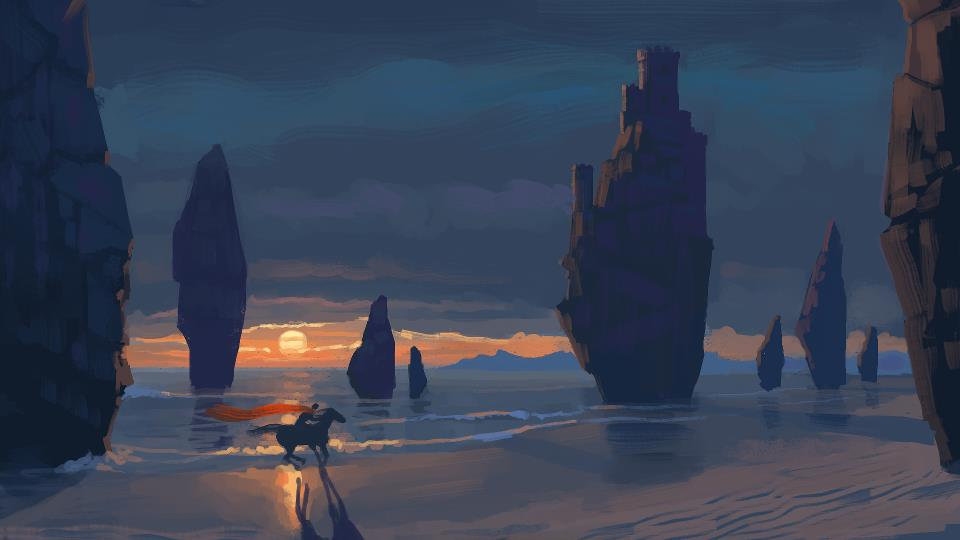 Beach Rider by Gjaldir