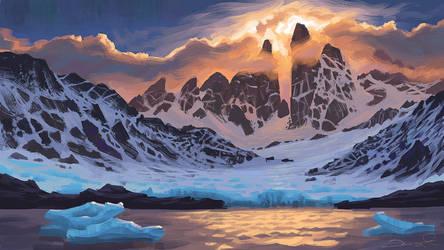 Arctic Pass by Gjaldir