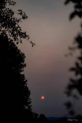 Hazy Sun in the Northeast