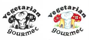 Vegetarian Gourmet Logo