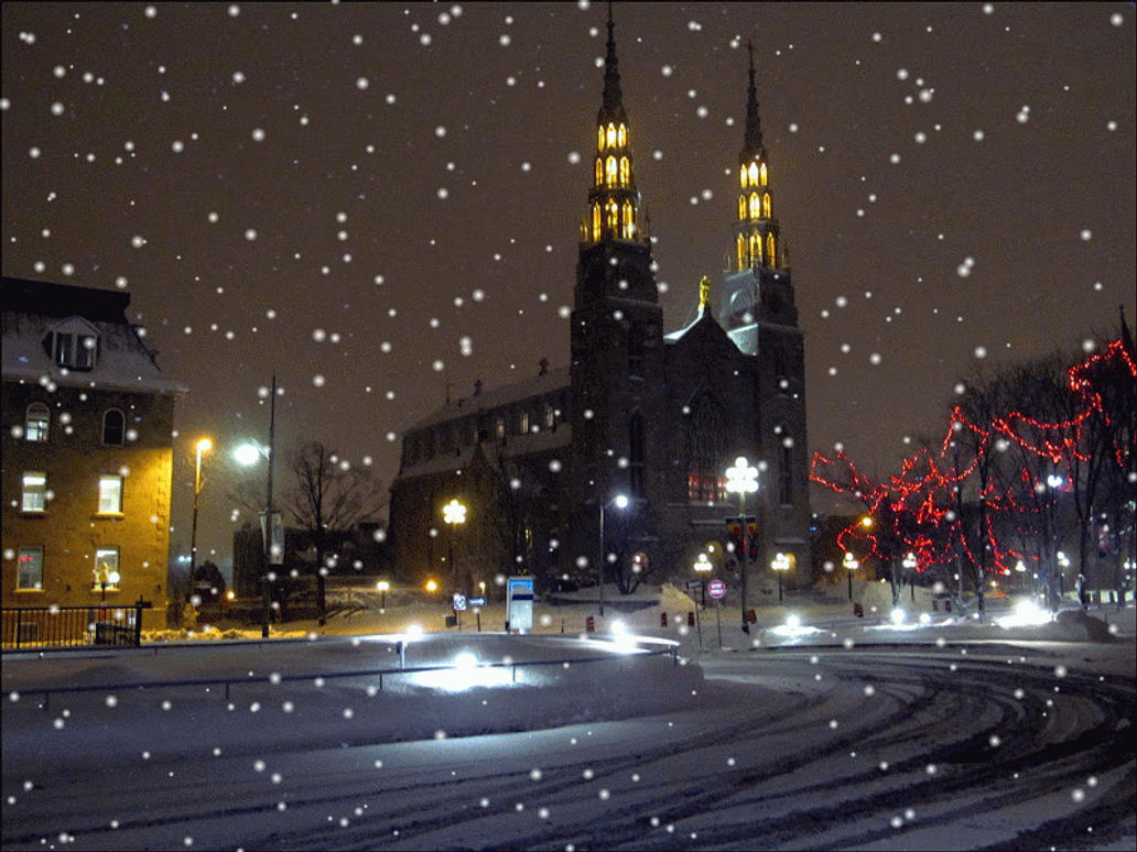 Snow in Ottawa by hugitsa