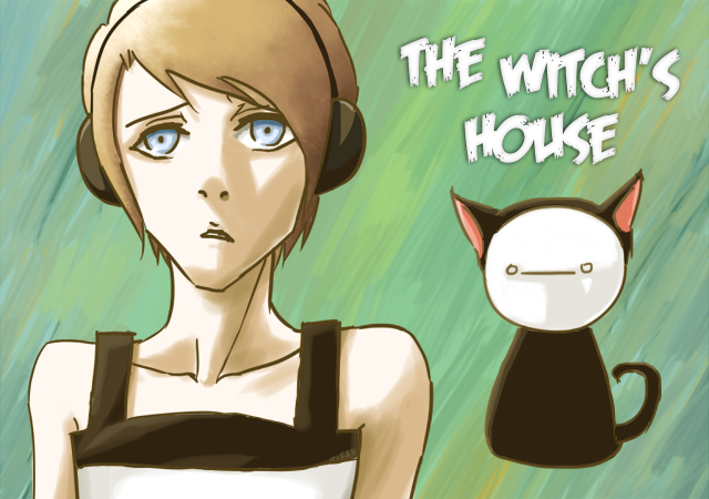 PewDieCry - The Witch's House by tifah-senpai