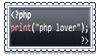 PHP_Lover Stamp by Neoriek