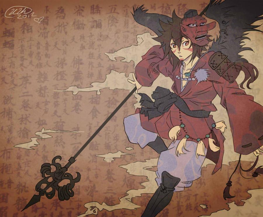 Vigilant Tengu by Koutetsu