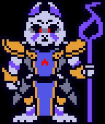 Shiftfell: Iris - toriel overworld sprite