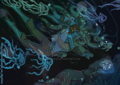 Underwater world of Glee Anselm