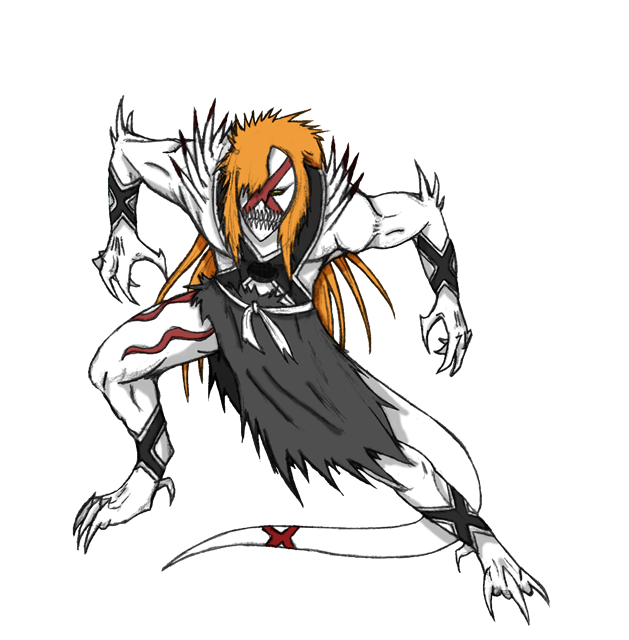Ichigo New Hollow Form by Arrancarfighter on DeviantArt