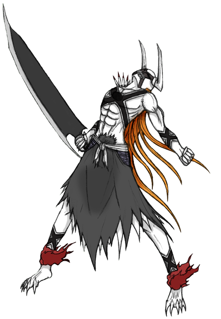 Ichigo New Hollow Form 2 by Arrancarfighter on DeviantArt