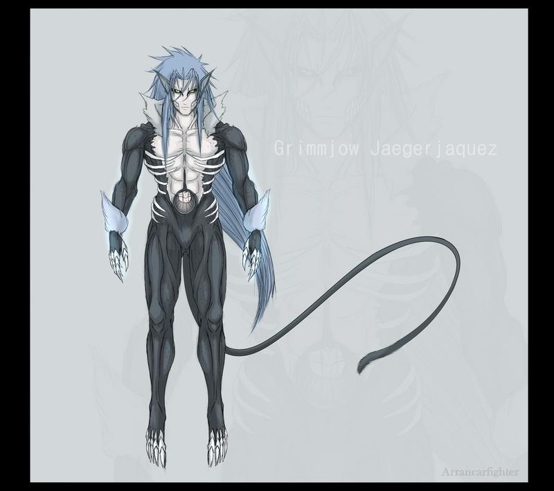 Lost Substitute Shinigam Arc Ends: Dark Grimmjow By Arrancarfighter On DeviantArt