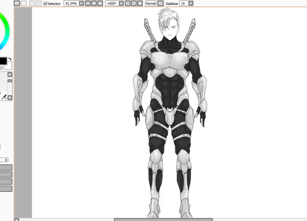 Paladin WIP by Arrancarfighter