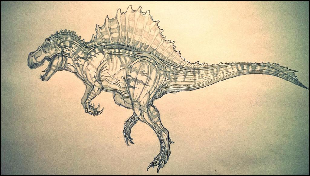 Spinosaurus Rex By Arrancarfighter On Deviantart