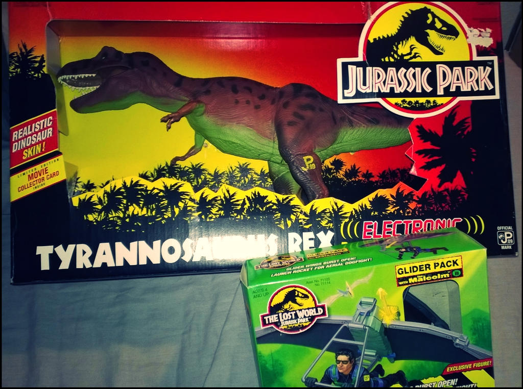 Jurassic Park Box Day by Arrancarfighter