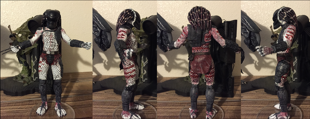 Cain Predator Repaint WIP by Arrancarfighter