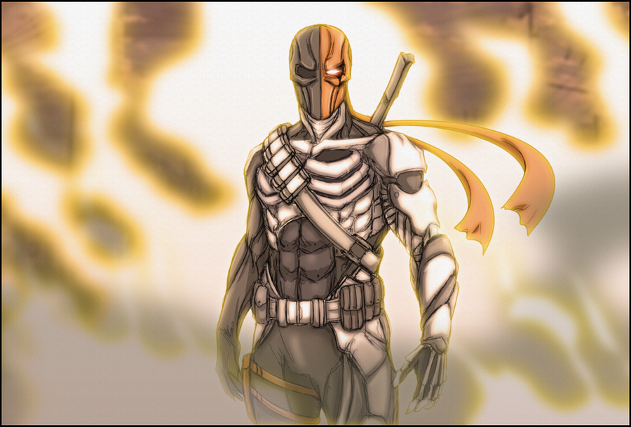 Deathstroke by Arrancarfighter