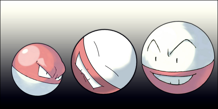 electrode and voltorb - photo #6