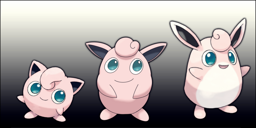 jigglypuff wigglytuff missing link by arrancarfighter on