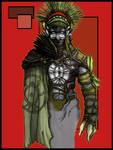 Lieutenant Hedrox colored