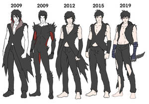 Cain over the Years