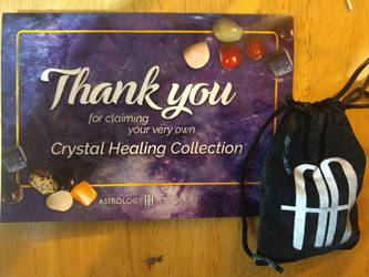 Crystal Healing Collection - front view