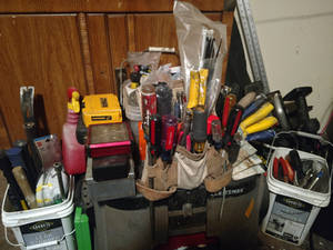My personal repair equipment and supplies