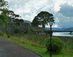 Ruins Alongside the Lake