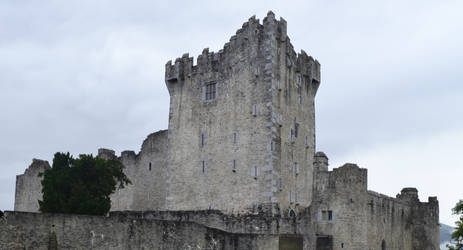 Ross Castle--View 1 by Caiwen-Nallron