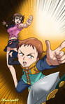 Nanatsu no Taizai - Diane and King Fanart