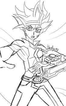 Yu-Gi-Oh! VRAINS - Playmaker (sketch)