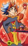 Yu-Gi-Oh! VRAINS - Soulburner (colored)