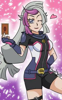 Yu-Gi-Oh! VRAINS - Ghost Girl (colored)