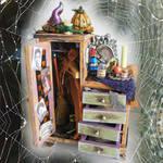 Witch's Closet dollhouse mini