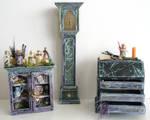 Magic Wizard Dollhouse set