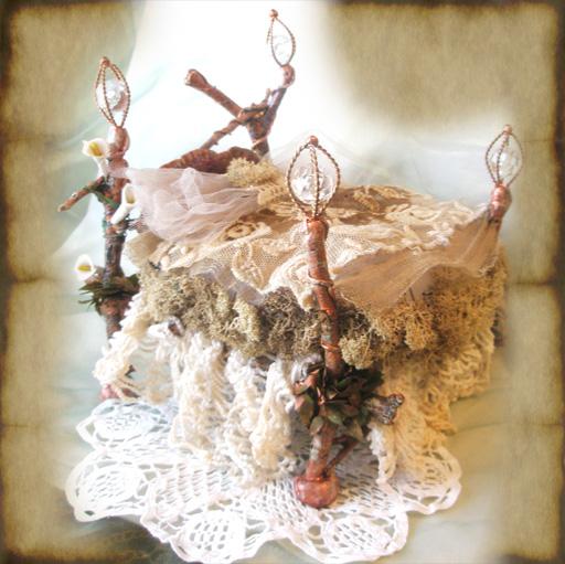 Copper Crystal Fairy Bed by grimdeva ...