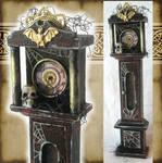 Miniature Spooky Clock