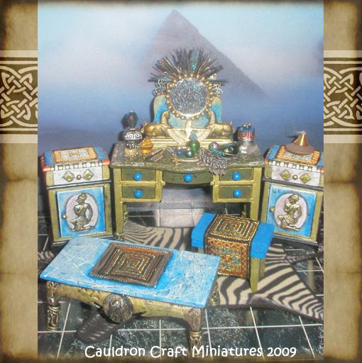 Egyptian Dollhouse Furniture By Grimdeva On DeviantArt