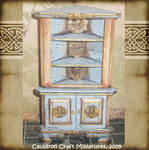 Dollhouse Medieval Cabinet