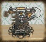 Steampunk Telephone Miniature