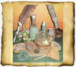 Green Magic Altar