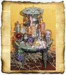 Steampunk Mini Potion Table
