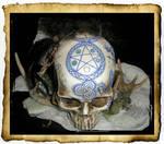 Pictish Pentacle Skull