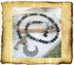 Obsidian Witch Prayer Beads