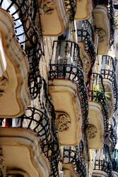 Barcelona Balcony by Footomch