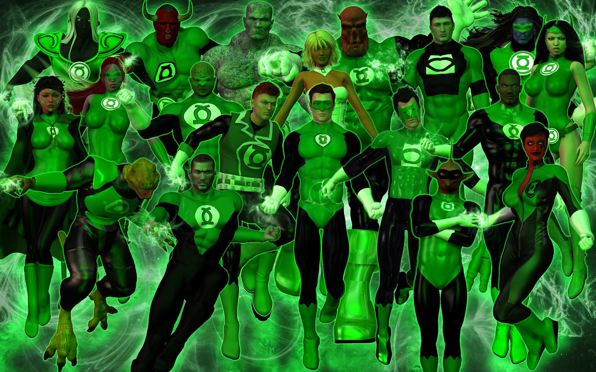 The Green Lantern Corps by DragonSpawn2000 on DeviantArt