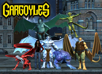 Disney's Gargoyles by DragonSpawn2000