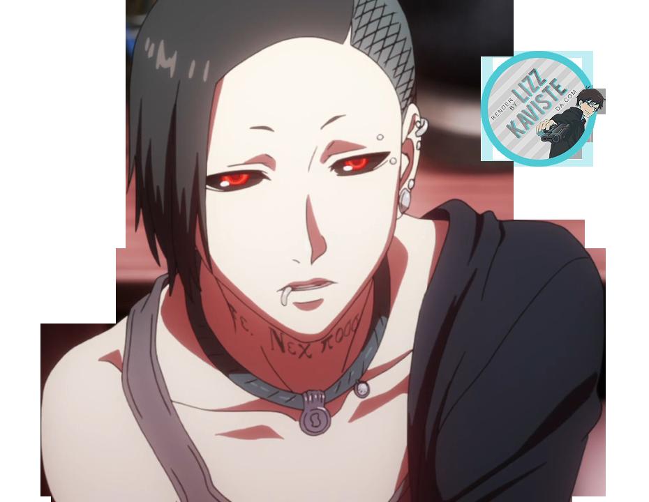 Uta Tokyo Ghoul [Render] by LizzKaviste