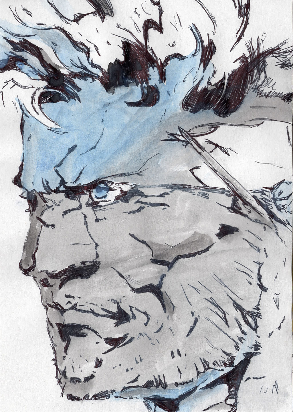 Solid Snake Metal Gear Solid 2 By Fanatictangents On