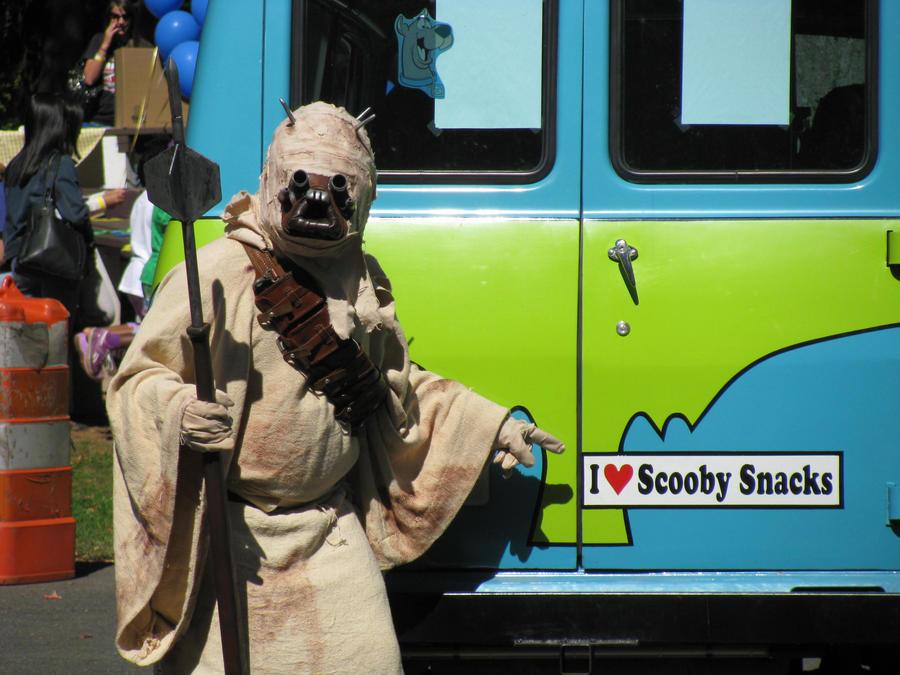Sand People like Scooby Snacks by tk8247