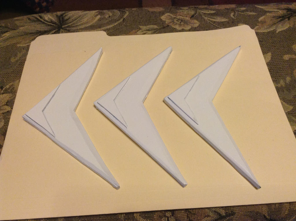 Finished prop boomerangs by tk8247
